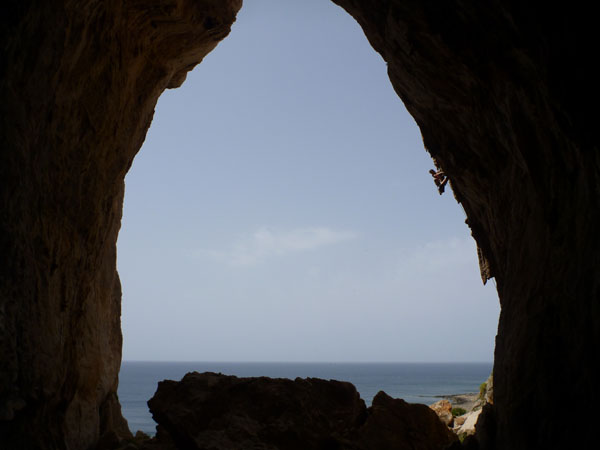 grotta del cavallo 6b+