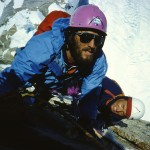 Peter in F. Knez pod vrhom Cerro Torreja-1986-F. Pavle Kozjek